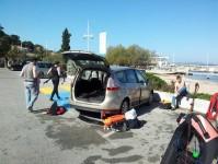 plage des oursinières - Pradet - Var