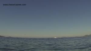 passage canadair au dessus du groupe de chasseurs sous marins