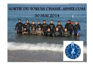 sortie des membres du forum chasse sous marine