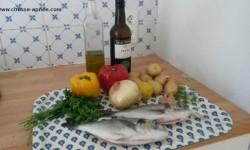 recette facile de poisson au four