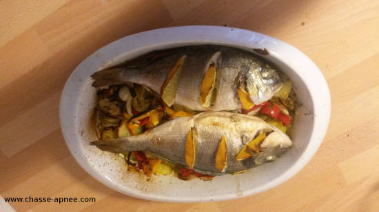 recette facile poisson au four