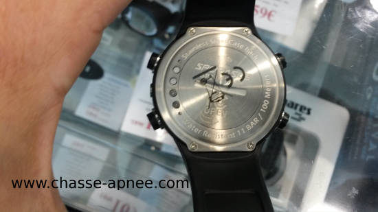 montre profondimetre Sporasub SP2