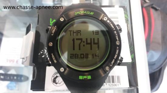 montre profondimètre Sporasub SP2