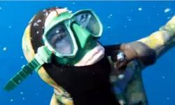 chasseur sous marin en syncope après son retour en surface