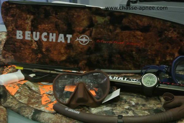 materiel chasse sous-marine beuchat 2015