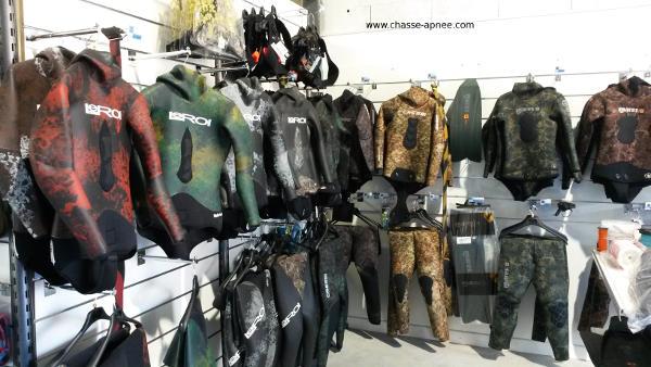 boutique chasse sous marine