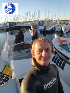 Départ du port de Carqueiranne pour une sortie chasse sous-marine