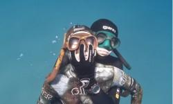Apnée ou chasse sous-marine : jamais seul.