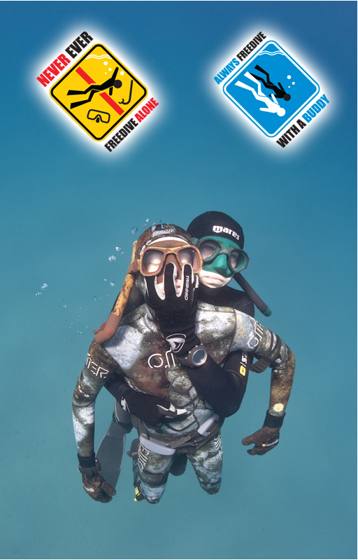 Apnée ou chasse sous-marine : jamais seul pour cause d'hypoxie.