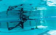 tir sur cible subacquatique