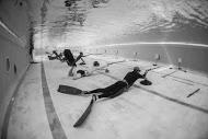 open des marque tir sur cible subacquatique