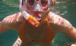 image snorkeling