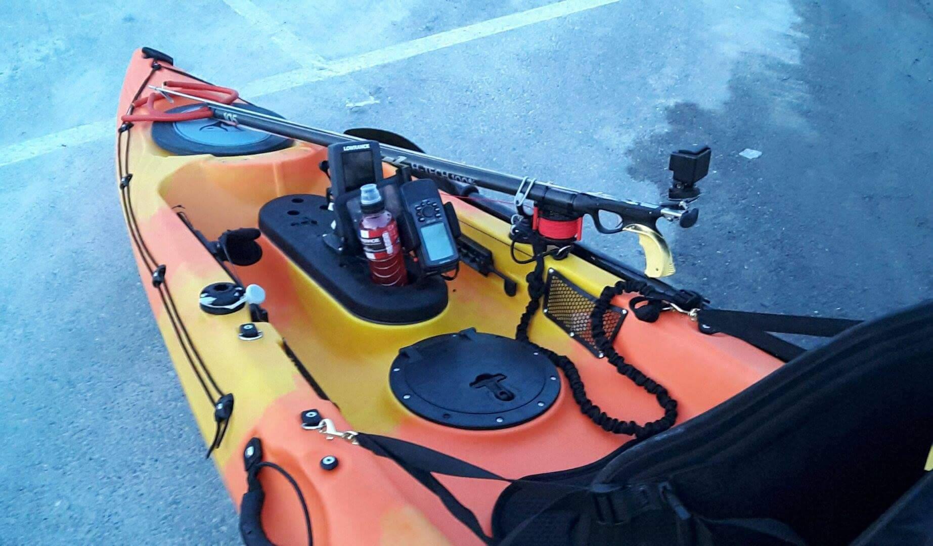 kayak sit on top aménagé