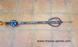 Vue générale du harpon Bucanero R 76