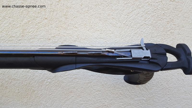 crosse et mécanisme du Salvimar harpon metal