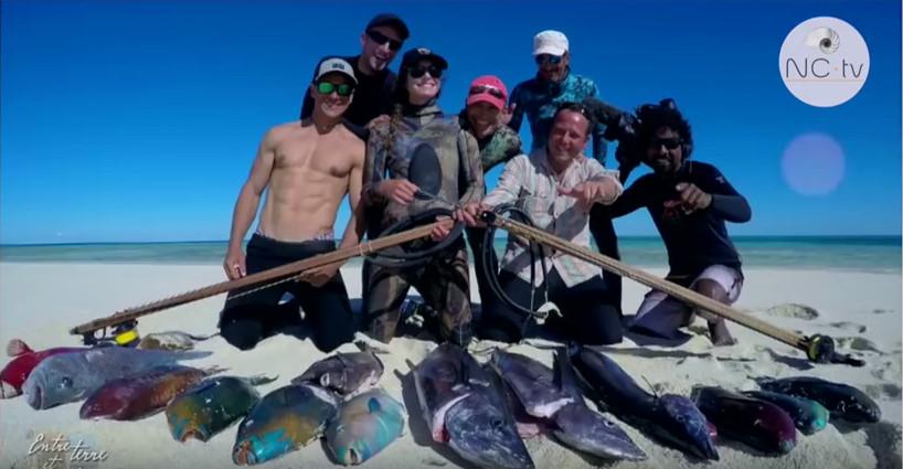 chasse sous-marine en Nouvelle-Calédonie