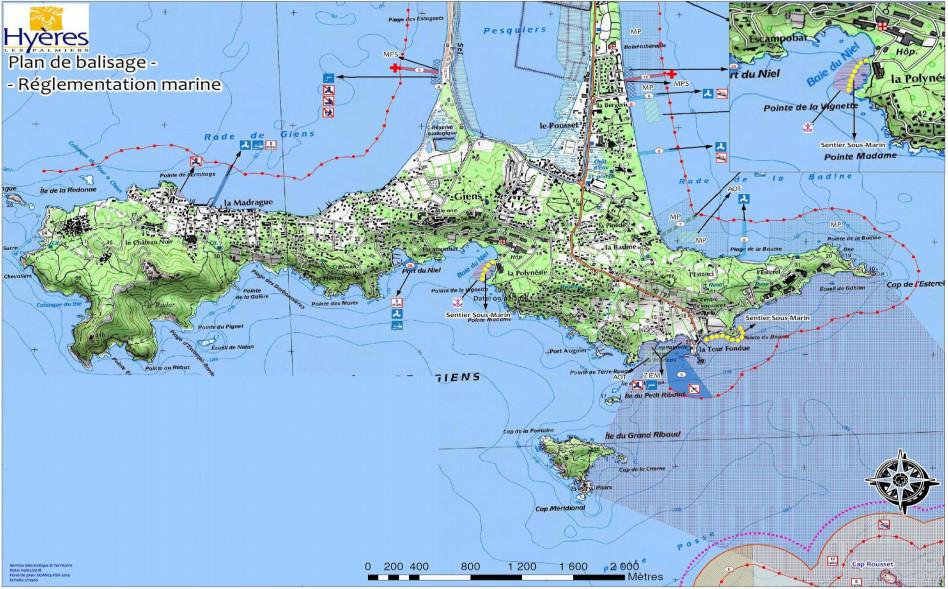 VAR : une nouvelle zone interdite à la chasse sous-marine à Giens.